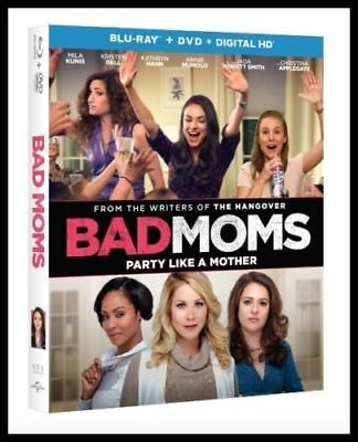 Bad Moms (Blu-ray+DVD, 2016) DVD disc only, read description