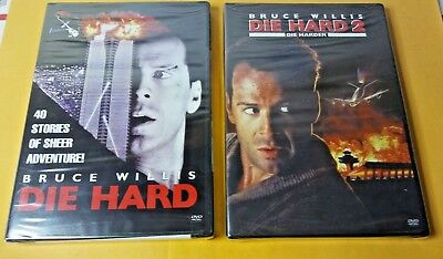 Die Hard Dvd + 2 Die Harder New Sealed Hard To Find Widescreen Editions Xmas Lol
