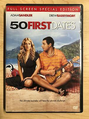 50 First Dates (DVD, 2004, Special Edition, Full Frame) - F0210