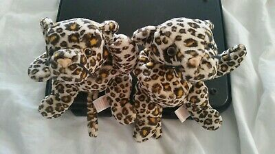 e95f9e01fb9 TY BEANIE BABY Freckles The Leopard Cat 1996 Retired PE Plush Toy ...