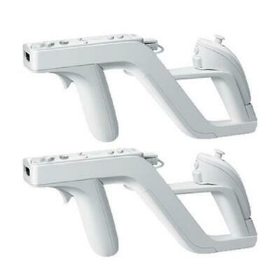 Zapper Shooting Gun Games Motion Remote Control for Nintendo Wii Nunchuk Motion