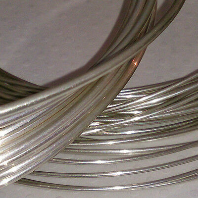 925 Sterling Silver Round Wire (Soft) 0.2mm to 2.5mm Multilisting