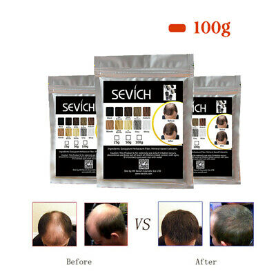 Sevich 100g Bag Hair Building Fiber Powder Hair Loss Product Extention Thicker