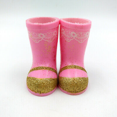 Fit For 14.5'' American Girl Doll WellieWishers Ashlyn Rainboots Boots Shoes New