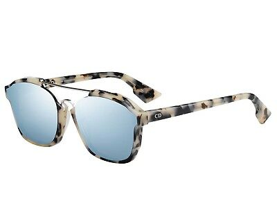 79bd1c27f4 Christian Dior Abstract Sunglasses Havana w  Ice Blue Mirror Lens TVZ9Z