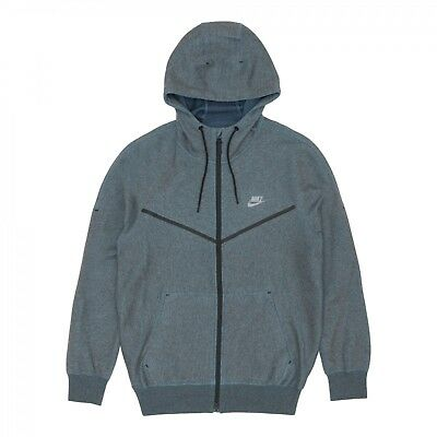 c3fa6384195c4 NIKELAB X KIM JONES TECH FLEECE HOODIE MENS SZ M BLUE WINDRUNNER 826863 407  $250