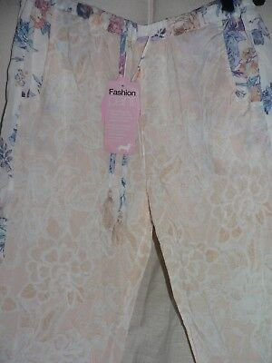 Womens Peter Alexander Floral Fashion PJ Pant in Medium NWT