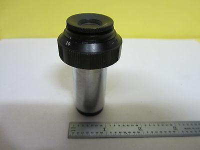 Microscope Pièce Oculaire Zoom 10x To 20x Optiques Tel Quel Bin #