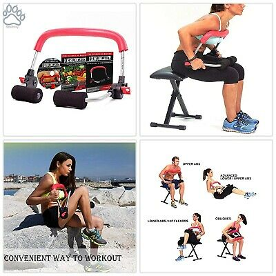 KRUNCHER ULTIMATE AB Machine Burn Calories and Build Lean Muscle in
