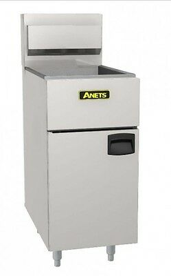 New Anets SilverLine SLG40 Gas Fryer , Natural gas or LPG