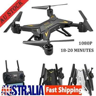 2.4GHZ Camera RC Remote Drone Altitude Hold Hover Headless Gyro WiFI Quadcopter
