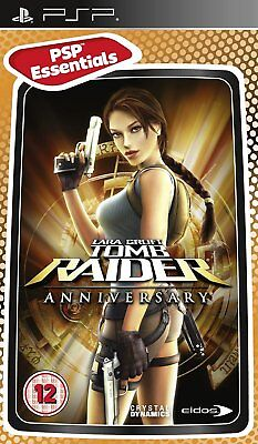 Lara Croft Tomb Raider Anniversary Game for PSP