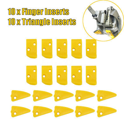 20X Plastic Leverless Inserts Protector for Corghi and More Tire Changer Model