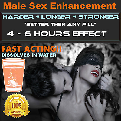 """🍆 Male Sexual Enhancement FAST ACTING 💥  """"BETTER THEN ANY SEX PILLS"""" 🍆"""