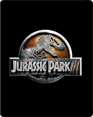 Jurassic Park III 4K (ZOOM Exclusive Limited Edition Blu-ray Steelbook) [UK]