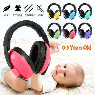 Folding Kids Childs Baby Ear Muffs Defenders Protectors Noise Reduction Children