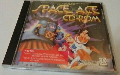 DON BLUTH'S DRAGON'S Lair and Space Ace PC CD-Rom - $15 99