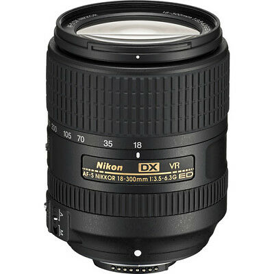 NEW Nikon AF-S DX NIKKOR 18-300mm f/3.5-6.3G ED VR - UK NEXT DAY DELIVERY