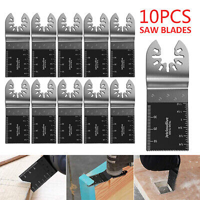 21pc 35 -65mm Saw Blades Oscillating Multi Cutter Mix Blade Tool Carbon Steel