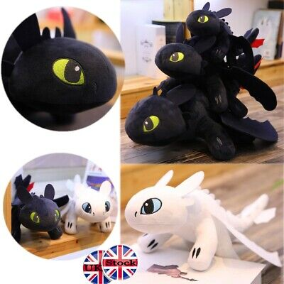 55cm Toothless Night Fury Plush Toy How to Train Your Dragon 3 Stuffed Doll Gift