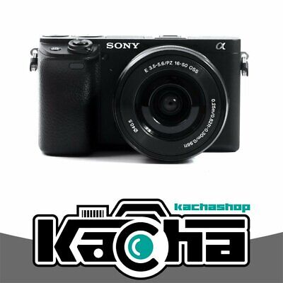 NUOVO Sony Alpha a6400 Mirrorless Digital Camera with 16-50mm Lens (Black)