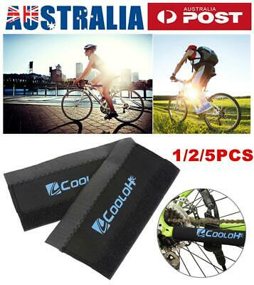 1/2/5Pcs Bike Bicycle Chainstay Frame Protector Chain Stay Guard Cover Pad AU