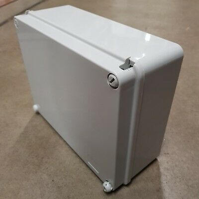 Waterproof Junction Box Adaptable Enclosure PVC Plastic IP56 240x190x90mm 240mm
