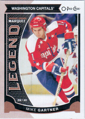 2015-16 O-Pee-Chee GARTNER Marquee Legend SP 567 Washington Capitals OPC UD MIKE