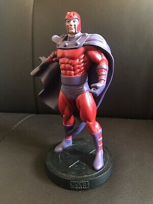 EAGLEMOSS MARVEL FACT FILE COLLECTION SPECIAL ISSUE. MAGNETO  FIGURE  BOXED 14cm
