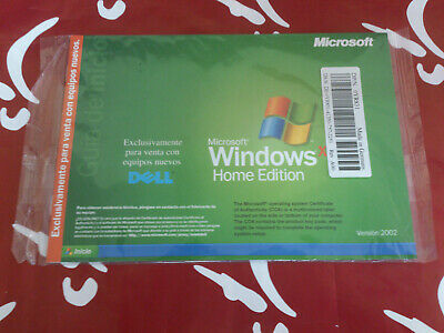 Sistema Operativo Microsoft Windows Xp Home Edition