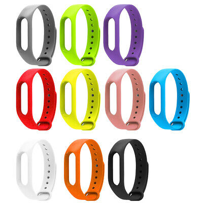 Replacement Multiple Solid Color Watch Band for M2 Smart Bracelet Wide