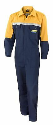 New Holland Agriculture Adult Overall Coverall Workwear