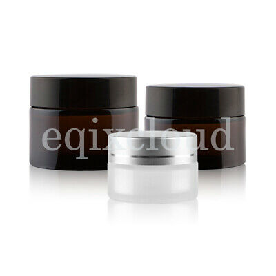 DIY 5/10/20/30/50g Small Empty Cosmetic Box Bottle Cream Glass Jar Container