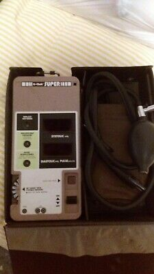 Digital Blood Pressure Measuring Unit Brethren Corporation U-Chek Super TM-101