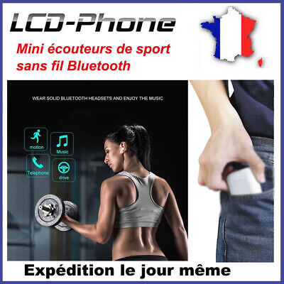 Écouteurs Bluetooth Sans Fil Samsung HUAWEI Sony Android earbuds headphones