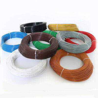 UL1332 22AWG Teflon FEP Wire Single Core Stranded Tinned Copper Cable O.D 1.36mm