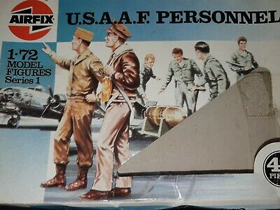 Airfix soldiers 1 72 1986 USAAF Personnel