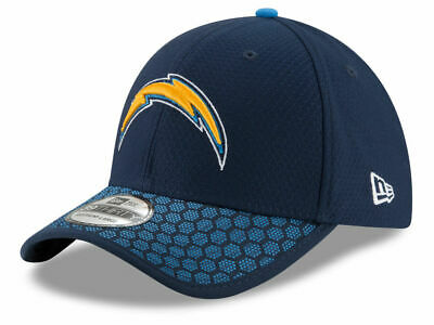 bcd422c6a85 Los Angeles Chargers New Era Official NFL Sideline 39THIRTY Cap Hat NWT M L   34