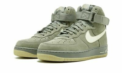 meet 8f8ac e7820 MENS NIKE AIR Force 1 High Suede Sneakers New, Dark Army Green 315121-048