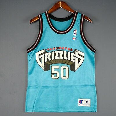 ba0893fc9 100% Authentic Bryant Reeves Vintage Champion Grizzlies NBA Jersey Size 40  M S