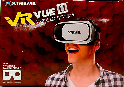 "Xtreme VR Vue II Virtual Reality Viewer for 3.5""-6"" iPhones & Android"