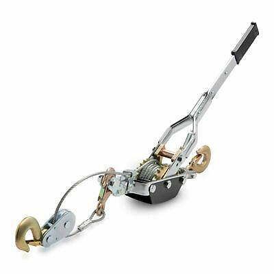 Neiko 2 TON Come A Long Leveler | 2 Solid Gears | 3 Hooks Puller