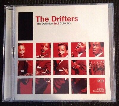 The Drifters CD The Definitive Soul Collection BMG 2 Disc Set