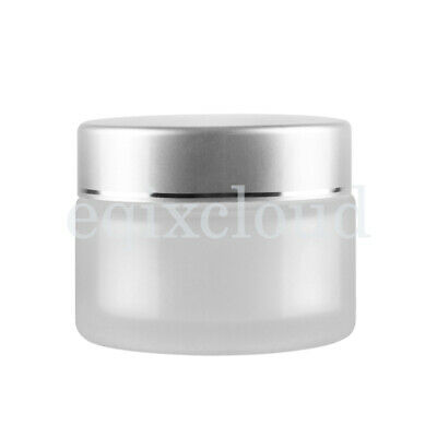 5/10/20/30/50g Frosted Clear Empty Jars Cosmetic Cream Gel Lip Balm Box Pots