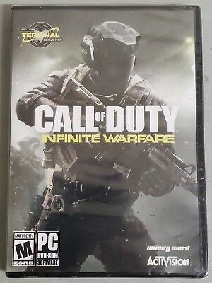 NEW Call of Duty Infinite Warfare Standard Activision Edition for PC Sealed