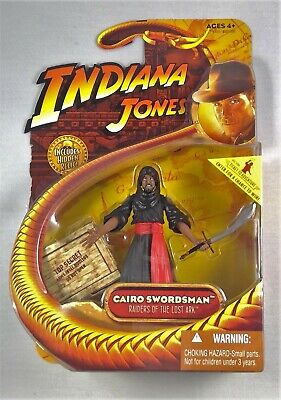 2008 Indiana Jones Cairo Swordsman Raiders of the Lost Ark 3.75 inch MISB