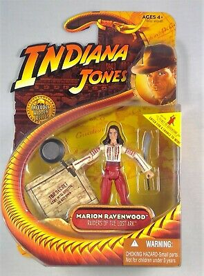 2008 Indiana Jones Marion Ravenwood Raiders of the Lost Ark 3.75 inch MISB