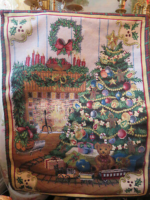 Kirklands Christmas.Christmas Tree Kirklands Christmas Wall Tapestry Wall Hanging Size 36 X 26