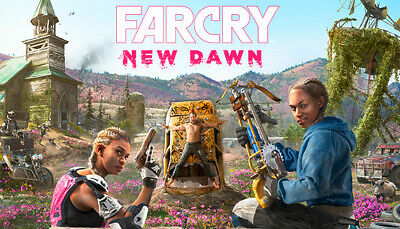 Far Cry New Dawn uPlay Game Key (PC) - UK/EUROPE ONLY - (no CD/DVD)