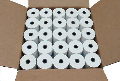 50-PACK Honeywell Datamax O'Neil 740524-102 Thermal Receipt Paper 4.4x125 MF4t/e